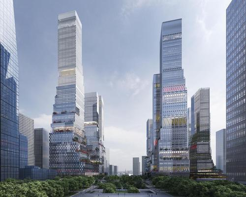 "'Rather than define the exact shape of the towers, the design establishes rules which ensure coherency yet encourage a degree of variation,""' said Mecanoo 