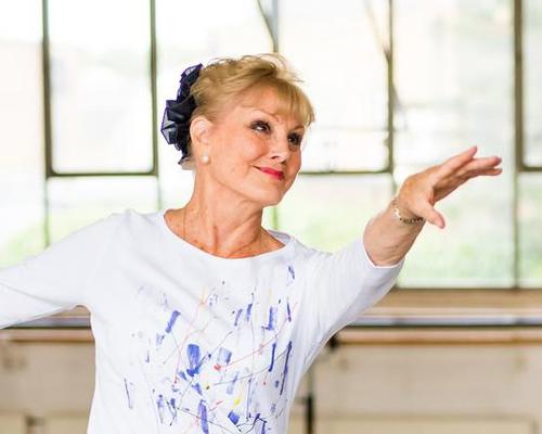 Angela Rippon is ambassador for the Silver Swans project / Photo by David Tett, courtesy of the Royal Academy of Dance