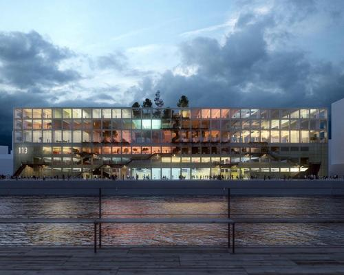 The project is located in the heart of Frihamnen RiverCity – the largest urban development project in Scandinavia