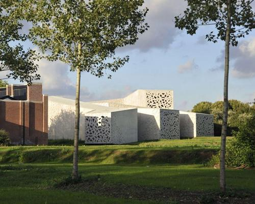 Gautrand's extension of the Lille Museum of Modern Art, completed in 2010 / Courtesy of Manuelle Gautrand Architecture