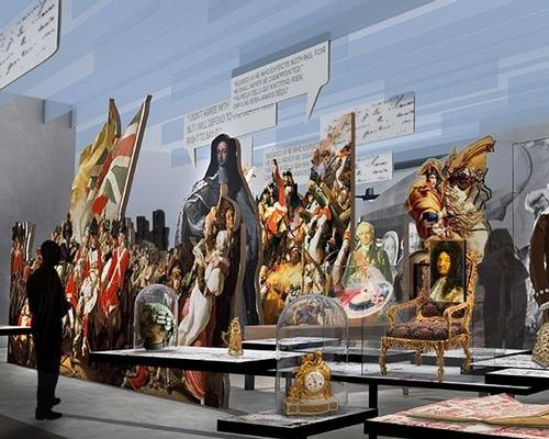 The unique maritime setting and history has inspired Casson Mann's permanent exhibition and visitor journey / Casson Mann