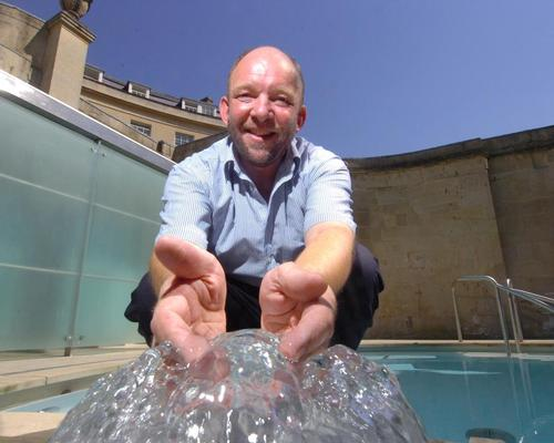 Thermae Bath Spa's marketing chief given outstanding contribution award