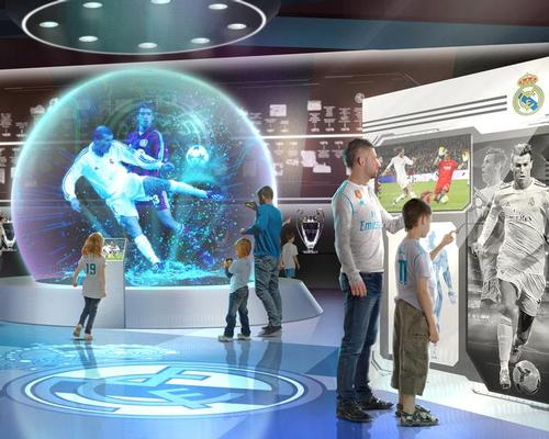 Real Madrid plans interactive football experience in China