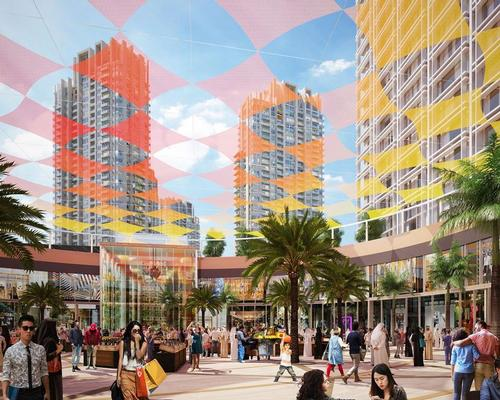 Discovery Gardens Mall 'will combine unrivalled shopping, dining and tourism facilities at the heart of one of Nakheel's biggest communities' / Nakheel