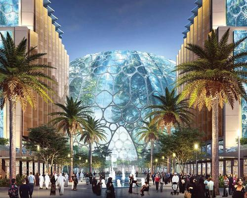 Host to the Expo 2020 Dubai opening ceremony, the Al Wasl Plaza will be retained as a culture venue to host shows and concerts / Dubai Expo