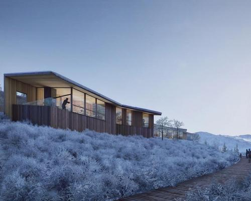 Construction began this summer on an expansive mountaintop retreat for entrepreneurship and innovation called Summit Powder Mountain / Nephew