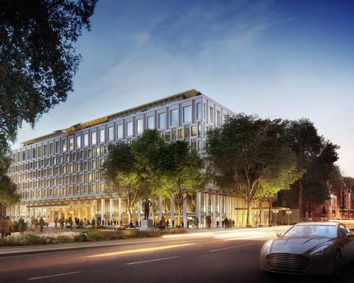 Rosewood chosen to operate hotel in London's reimagined US Embassy building