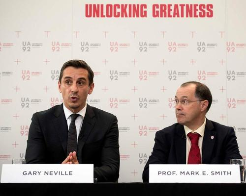 Manchester United legends to launch university focused on wellbeing