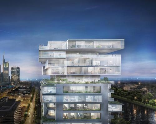 Ole Scheeren announces first European building: a green-topped Frankfurt tower