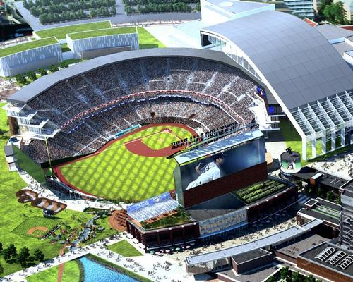 Populous are designing a new ballpark for Sapporo baseball team Hokkaido Nippon-Ham Fighters / Populous