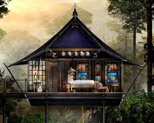 Located along 1.5km of river, each custom-designed tent will be elevated over swift moving water and waterfalls, 'providing a view and experience unlike any other resort in Asia'