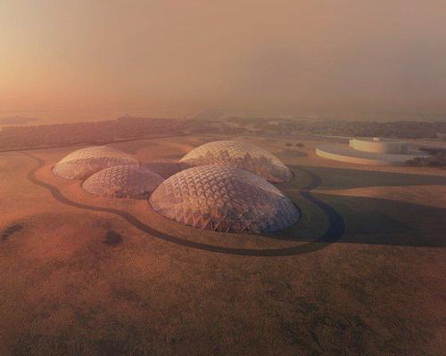 Located in the Dubai desert, Mars Science City will cover 1.9 million sq ft / Government of Dubai