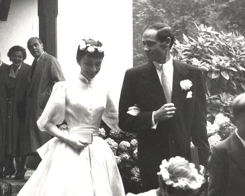 Audrey Hepburn and Mel Ferrerr were married at the resort's chapel