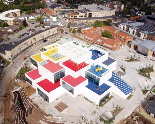 Around 250,000 people are expected to visit the site per year, boosting tourism income for a town that is also home to the first Legoland theme park / Lego Group
