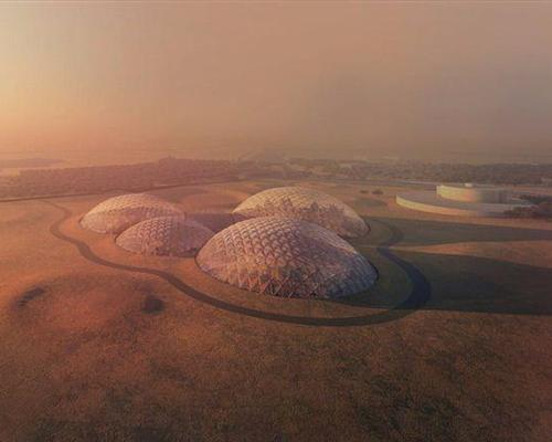 The government of Dubai will build Mars Science City as part of its mission to Mars. / Government of Dubai