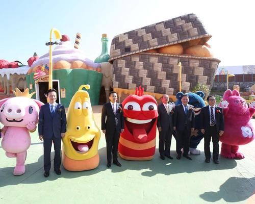 Jeju Shinhwa World celebrating theme park launch