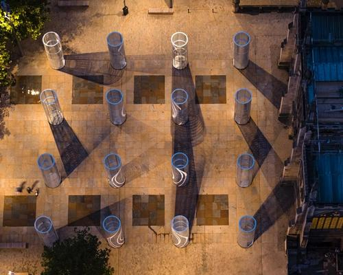 The Royal Institute of British Architects (RIBA) and Hull UK City of Culture 2017 commissioned the duo as part of the Hull 2017 'Look Up' programme of public art installations / Octovision Media