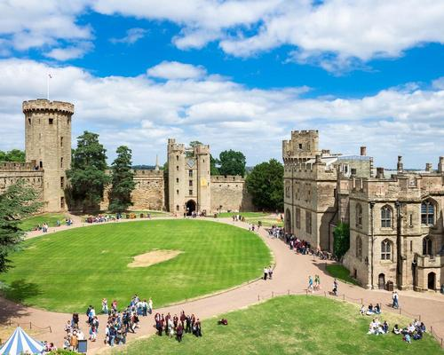 Merlin's masterplan for Warwick Castle includes restoration of towers, ramparts and walls / Shutterstock.com