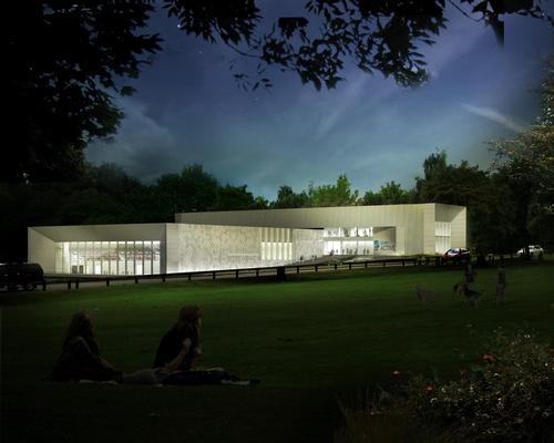 FaulknerBrowns reveal modular stacked design for Derby swimming complex
