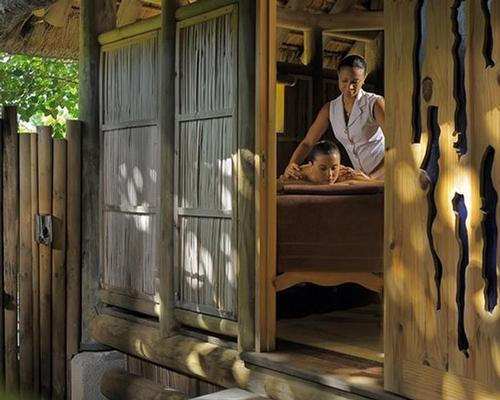 The resort's wellness centre has been redesigned in the shape of a treehouse village