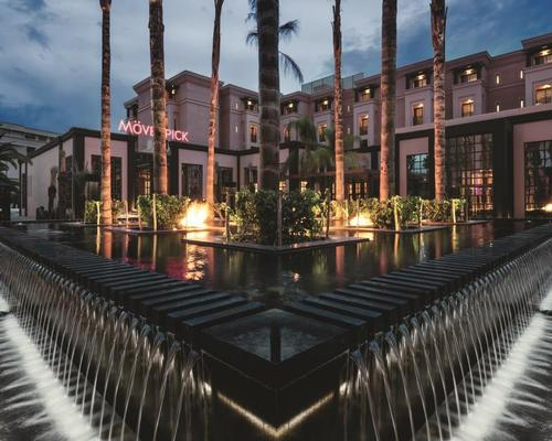 The networking event will be held at the Mövenpick Hotel Mansour Eddahbi, Marrakech, Morocco