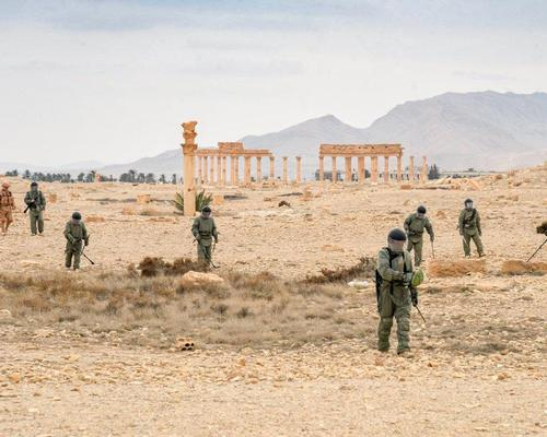 Previously inaccessible heritage sites are being recovered from enemy forces