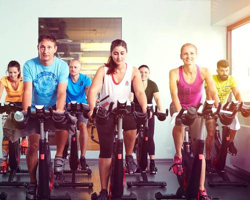 The Bike and Beats class is an addition to the brand's four other courses