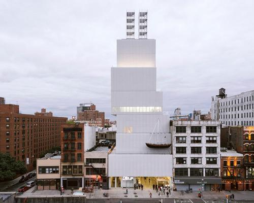 OMA will create an extension for the New Museum next to its flagship home, designed by SANAA and opened in 2007 / Dean Kaufman