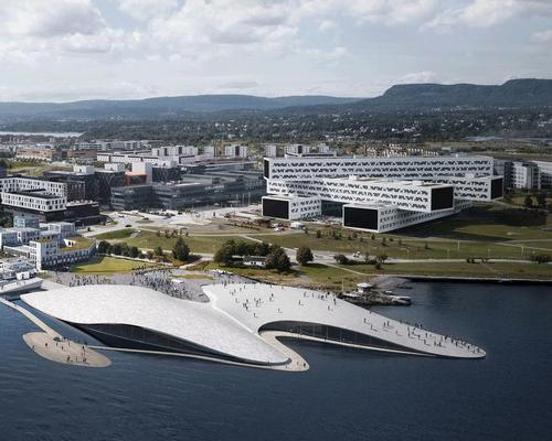 Selvaag is developing the aquarium at the site of Oslo's former international airport
