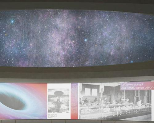 The planetarium's upper dome will be used to display Einstein's studies / Arad Simon Architects