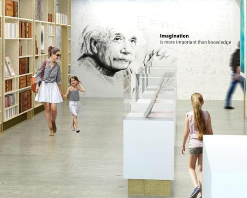 The Einstein museum plan has been in the works for some time / Arad Simon Architects