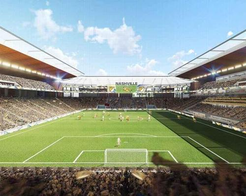 Concept designs from global architects HOK show a 27,500-seater stadium / HOK