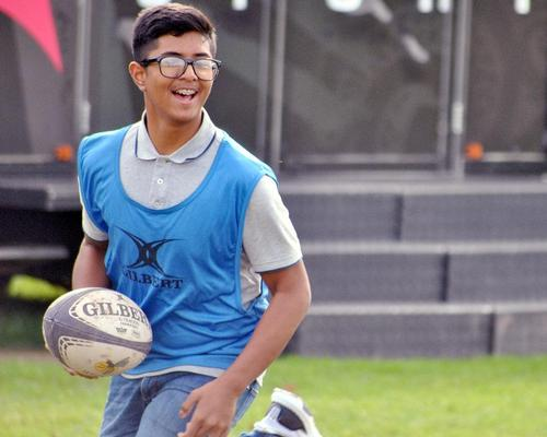 Rugby reaches out to new communities at grassroots level