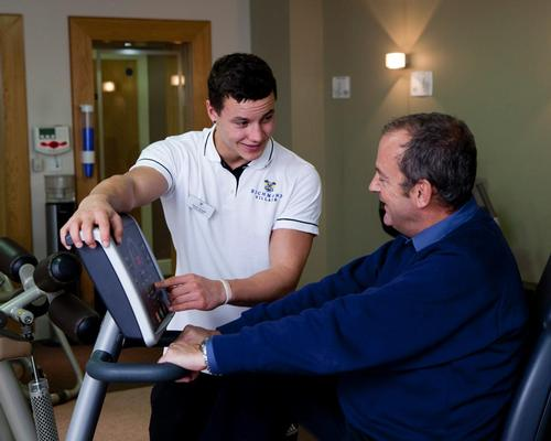 Residents are supported by gym staff, who are all trained in working with the user demographic