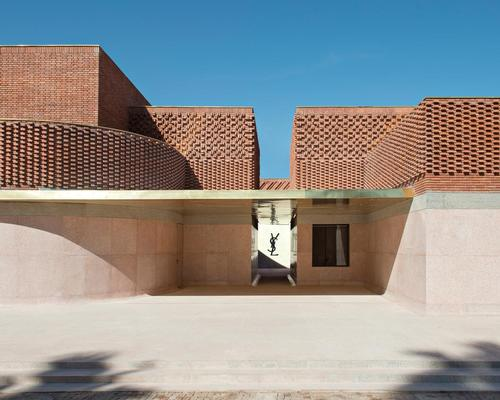 The Musée Yves Saint Laurent has now opened in Marrakech / Nicolas Mathéus
