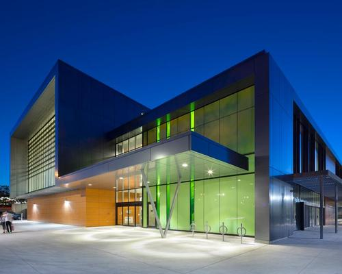 York Community Centre is an aquatics centre, gym, health club and community hub / Tom Arban