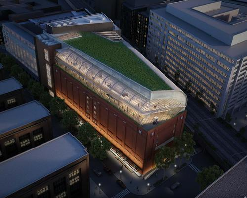 Architecture firm SmithGroupJJR have designed the museum by renovating an imposing refrigerated warehouse blocks away from the National Mall.