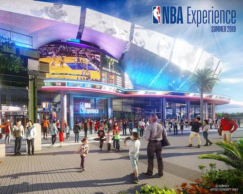Disney offers first look at new Disney Springs NBA Experience