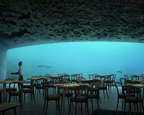 Snøhetta create 'Europe's first underwater restaurant'