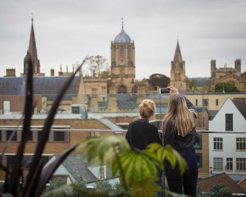 Westgate features Oxford's first public rooftop garden