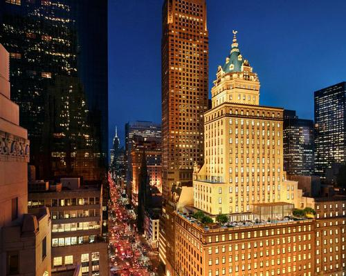 The 26-storey Crown Building is one of the finest examples of Beaux-Arts architecture in New York, and will be transformed by architect Jean-Michel Gathy of Denniston