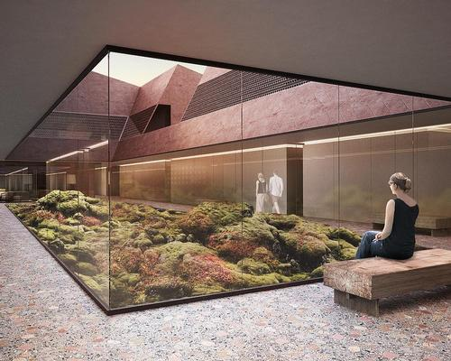 Inside and outside spaces will be merged in the design / Johannes Torpe Studio
