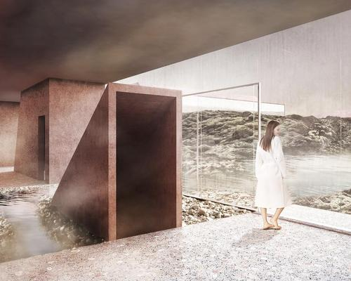 Guests can look out at the majestic Icelandic landscape / Johannes Torpe Studio