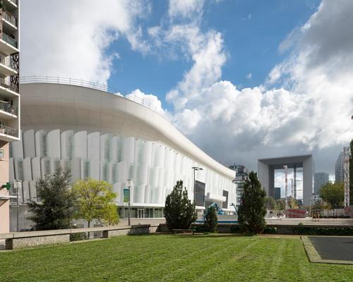 The landmark Grand Arche is very close to the new stadium / Nicolas Borel