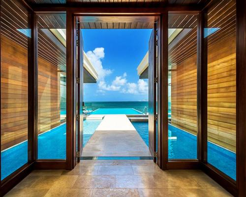 A three-bedroom Presidential Villa at the Park Hyatt St Kitts has its own wellness area and private infinity pool