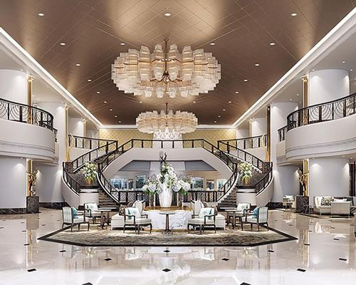 Interior design firms Vekhin Interior and Bangkok Dec-Con have referenced the building's regal lineage / Marriott International