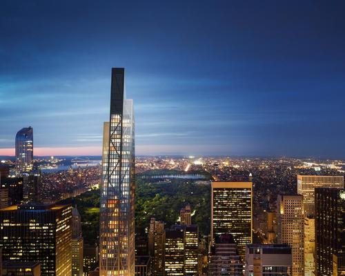 Nouvel's ambition is to create 'a gracefully tapered, sculptural form that is progressive yet reminiscent of classic Manhattan skyscrapers' / Hayes Davidson