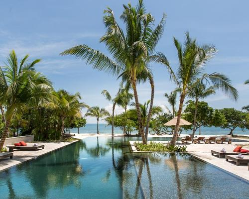 Located in the hideaway beach town of Placencia, the Itz'ana Resort & Residences occupies 16 miles of a peninsula, with the Caribbean Sea on one side and a lagoon on the other / Eileen Chang