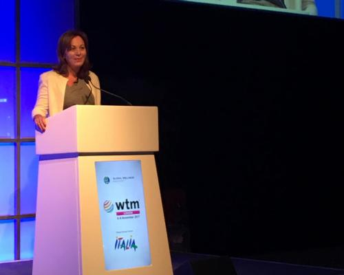 Photi spoke at the Wellness Travel Symposium, organised by the Global Wellness Institute, at the World Travel Market in London this week