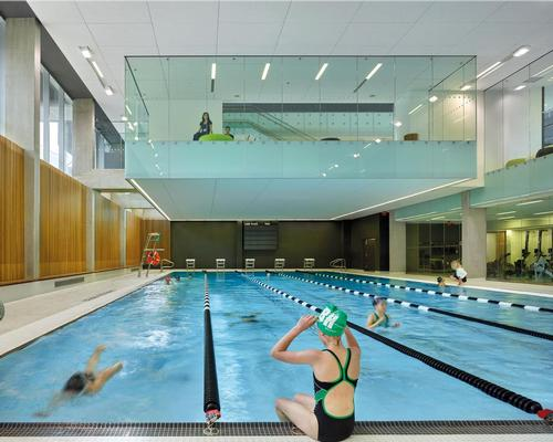One of the Silver Award winners was Branksome Hall Athletics and Wellness Center in Toronto, by / MacLennan Jaunkalns Miller Architects